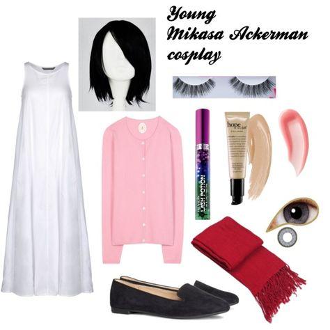 Young Mikasa Ackerman Cosplay Casual Cosplay Fandom