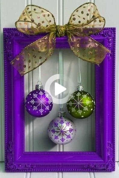 Closed For Christmas 2021 Purple Ornements Pics Shiny Particles Live Wallpaper For Your Iphone 7 Plus From Everpix Fo In 2021 Easy Christmas Decorations Purple Christmas Decorations Christmas Crafts