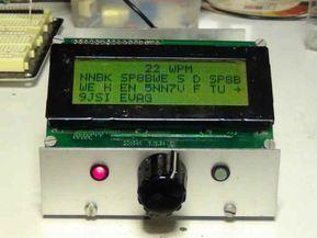 Arduino Cw Decoder Arduino Ham Radio Arduino Projects