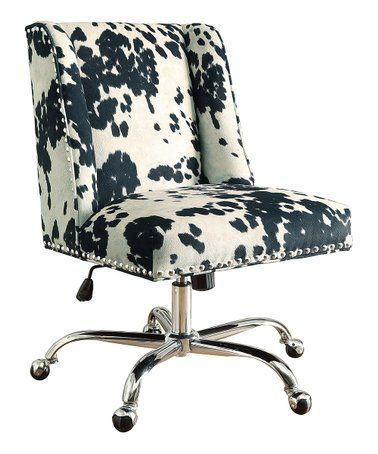 Loving This Black Udder Madness Chrome Base Office Chair On