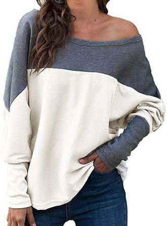 Women/'s Off Shoulder Knitted Jumper Oversized Baggy Sweater Pullover Tops Lot