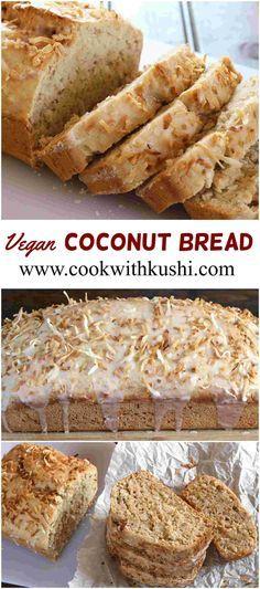 Vegan Coconut Bread Coconut Flour Vegan Coconut Cake