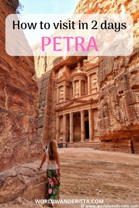Two Days In Petra Planning Your Trip World Wanderista In 2020 Plan Your Trip Jordan Travel Trip