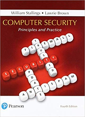 Solution Manual For Computer Security Principles And Practice 4th Edition Solution Manual For Computer Security P Computer Security Test Bank Computer Books