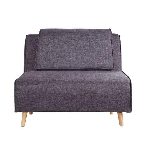 Schlafsessel günstig  Schlafsessel Rovigo - Webstoff Grau | Sessel | Pinterest