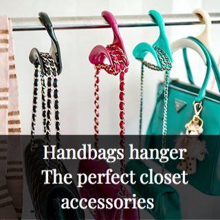 Wardrobe Organization Handtaschen Im Schrank Stilvoll Aufhangen Handtaschen Aufbewahrung Handtaschen Handtaschenhalter