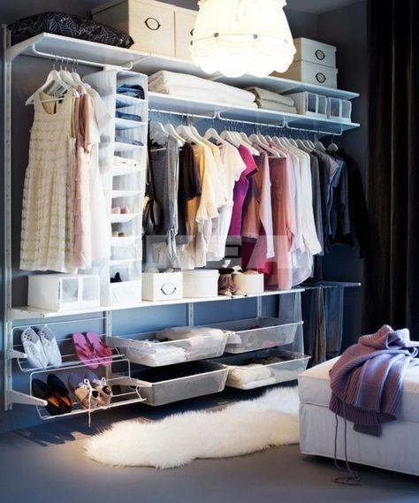 einrichtungstipps offener kleiderschrank ankleidezimmer kleiderschrank systeme