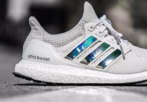 2017 New Arrival Trainers adidas Ultra Boost light grey