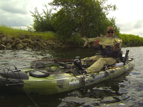 Johnu0027s Pine River Kayak Fishing Trip Report, Northern Wisconsin - trip report