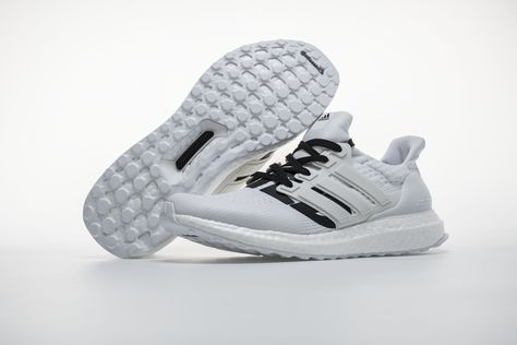ad74a6a7051 Undefeated x Adidas Ultra Boost 4.0 BB9102 White Real Boost4 ...