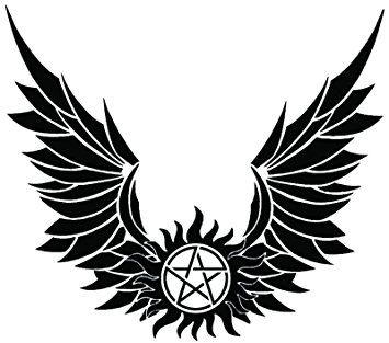 Amazon.com: Supernatural Devils Trap Symbol Sigil Vinyl Sticker ...