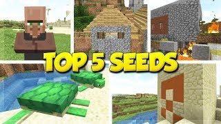 5 Village Seeds For Minecraft 1131 Minecraft Update
