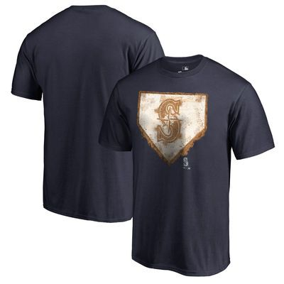 Seattle Mariners Home Plate Collection T-Shirt - Navy
