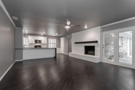 20 New Ideas For Dark Wood Floors Kitchen Gray Walls Dark Wood Floors Living Room Living Room Wood Floor Grey Walls Living Room
