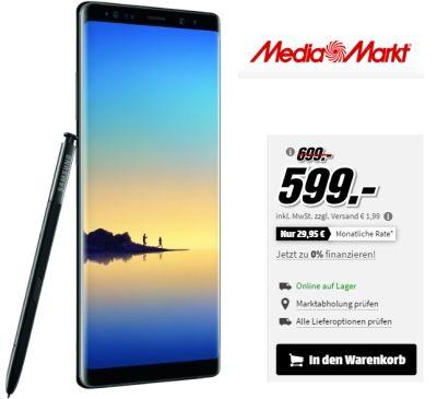 Media Markt Haut Wieder Ein Super Angebot Raus Fur Kurze Zeit Gibt Es Namlich Das Samsung Galaxy Note 8 Fur 5 Samsung Galaxy Note 8 Galaxy Note Media Markt