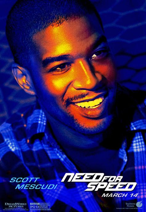 'Need for Speed' Character Posters Released- Unfortunately No Cars