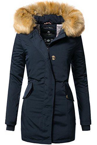 Damen Winter Mantel Winterparka Karmaa XS XXXXXL(5XL