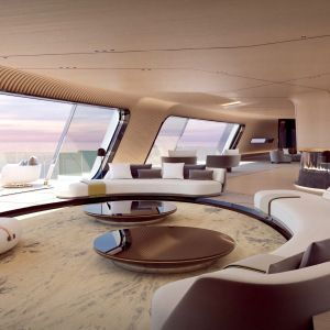 Oceanco S Project Tuhura Is A Futuristic Superyacht Styled On A