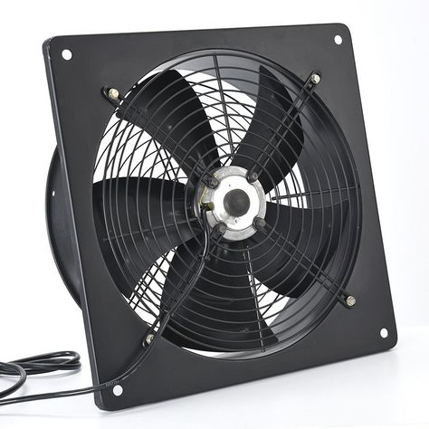 Industrial Extractor Exhaust Ventilation Commercial Air Blower Fan 8-20 Inch