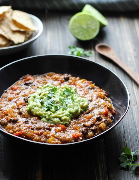 One Pot Mexican Ranchero Amaranth Stew