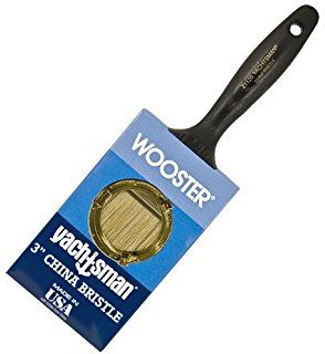 Wooster Brush Z1120 3 Yachtsman Paintbrush 3 Inch Paint Brushes And Rollers Wooster Brush Paint Rollers With Designs