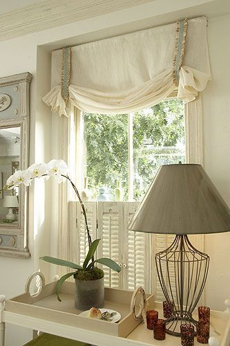 This Is What I Want To Make For My Kitchen Dining Window Treatments These Are In 2020 Farmhouse Window Treatments Curtains Window Treatments Kitchen Window Treatments