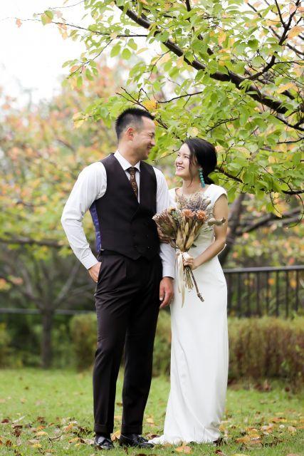 Be Natural 自然と笑顔になれる結婚式を Mmm さんの挙式 披露宴ハナレポ ウエディングパーク ウエディング 挙式 披露宴