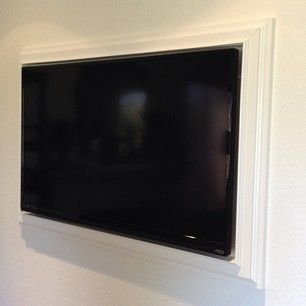 37 Wall Mounted Tv Ideas Interior And Decor For Your Inspirations Wall Mounted Tv Framed Tv Diy Tv Wall Mount