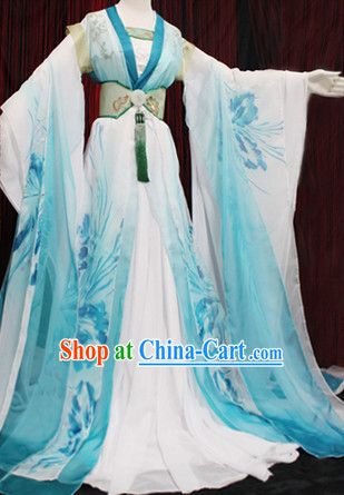 Traditional Chinese Hanfu Attire Complete Set                              …