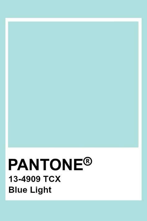 Pantone Blue Light