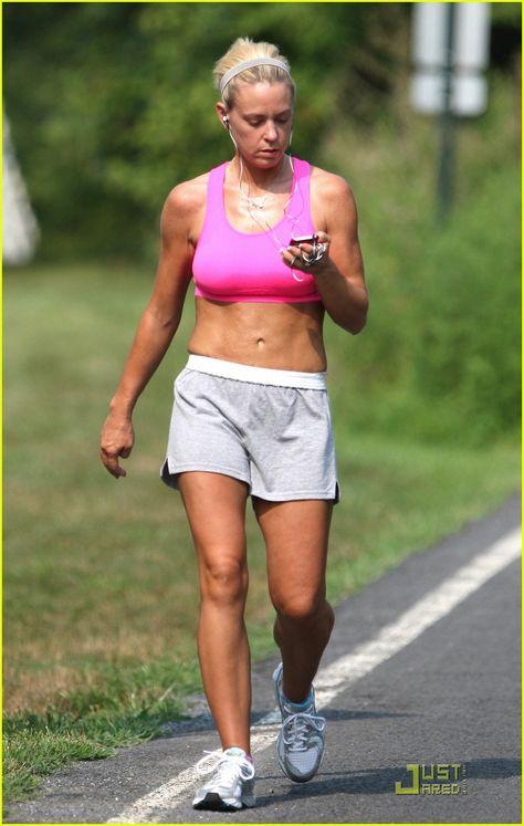 Kate Gosselin 2014 | Kate Gosselin: Hot Pink Sports Bra Workout!