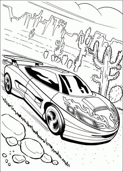 Ausmalbilder Hot Wheels Fahrzeuge 01 Ausmalbilder Ausmalbilder