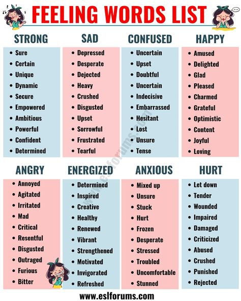 List of Adjectives: The Ultimate List of Adjectives in English with ESL Pictures! - ESL Forums