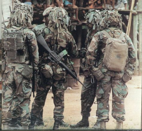 American Infantry during Operation Just