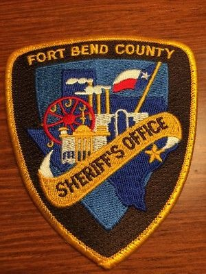 Fort Bend County Tx So Police Patches Texas Police Police Badge