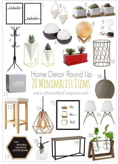 Amazon 20 Minimalist Home Decor Items Minimalist Home Decor Minimalist Home Minimalist Decor