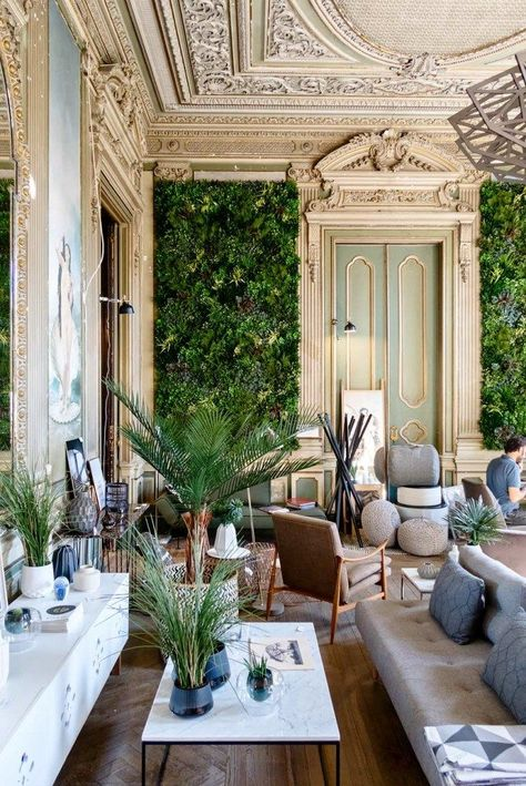 10 Shopping Hotspots & Places to Visit in Lisbon - Embaixada concept stores Interior Architecture, Interior And Exterior, Interior Design, Interior Concept, Dream Home Design, My Dream Home, Casa Loft, Aesthetic Rooms, House Rooms