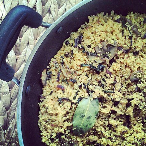 Curried Quinao Pilaf