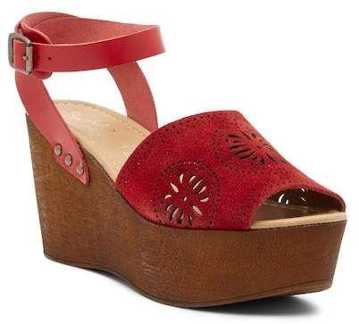 5d21d282b76 Via Spiga Nirvelli Ankle Strap Platform Sandal
