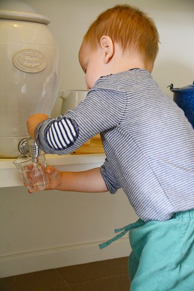 The Montessori Drink Station. This will make your life easier!