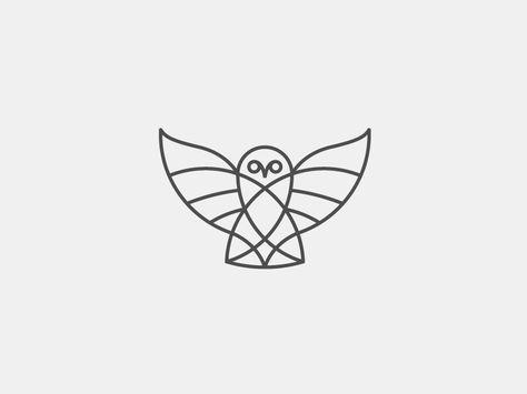 Owl In Stroke Original: http://ift.tt/WP6F2x