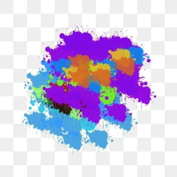 Colour Splash Multicolor Mixed Chines Purple Red Green Png Transparent Clipart Image And Psd File For Free Download In 2020 Color Splash Black Background Painting Watercolor Splash