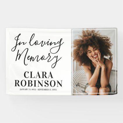 Modern In Loving Memory Photo Banner Photo Banner Photo Memories In Loving Memory