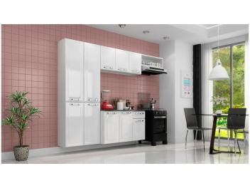 Cozinha Compacta Itatiaia Amanda 10 Portas 1 Gaveta Aco