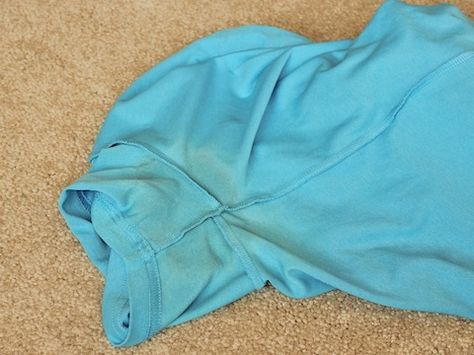 Want to learn how to remove underarm stains on colored shirts? Here, see tips and tricks for doing this successfully.