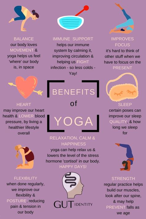 Additional to the many health benefits yoga can bring, just by starting a yoga practice, can make us healthier overall. It's also a good way to meet other people & be part of a group. Yoga is a practice that can be built on & there are many different types of yoga. The best thing to do is to try out different ones until we find one that suits us & our needs. The most important part of yoga is just giving it a try. It's something we can add to our daily routine either at home or in a class.