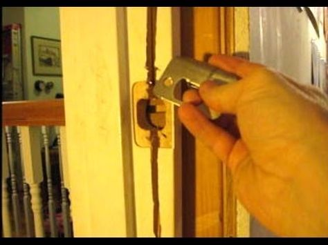 If Your Interior Or Exterior Door Has Been Kicked In Or Your Door Frame Has  Cracked, Here Are A Few Tips On How To Repair It. In Extreme Cases The Door  ...