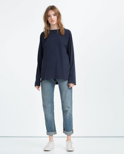06fe6900 Zara Launches a New Gender-Neutral Collection and the Basics Are Amazing |  Lemmings | Zara women, Zara, Gym wear for women
