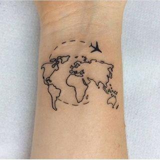 50 tatouages sur le voyage pour s'évader : Album photo - aufeminin