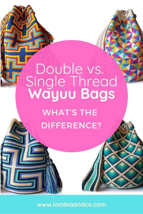 The Difference Single Bags And Wayuu Double Is Thread Between 0PXnkOw8